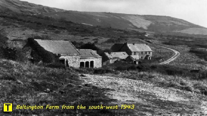 Baltington Farm from the south-west 1943