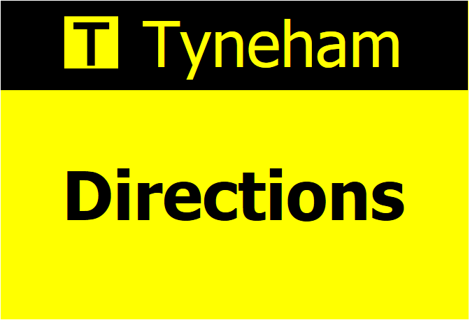 Directions to Tyneham: How to get there