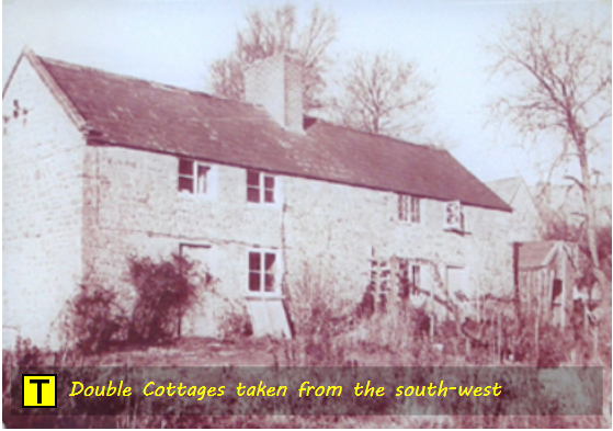 Double Cottages at Tyneham taken from the south-west