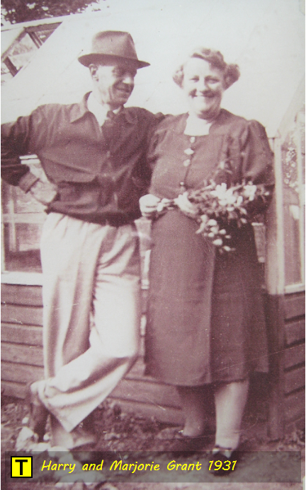 The Grant family: Harry and Marjorie