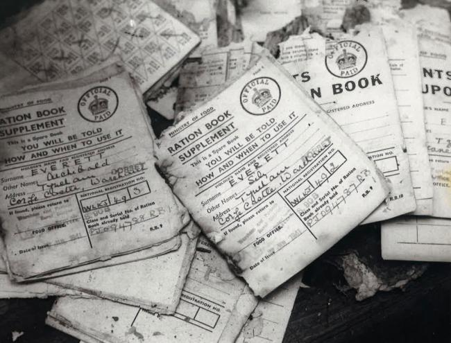 Ration books found at Tyneham